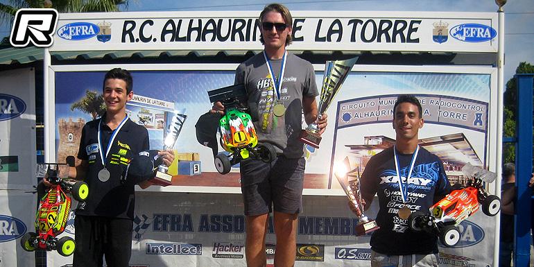 David Ronnefalk wins EFRA 1/8th E-Buggy Euros