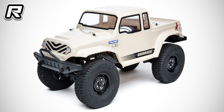 ECX Barrage 1.9 1/12th 4WD RTR crawler
