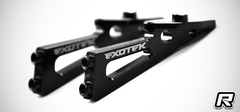 Exotek B6 wing mounts, Ti front axles & wheel hexes