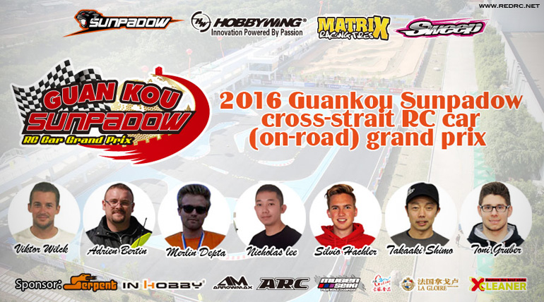 Guankou Sunpadow Cross-Strait GP – Announcement