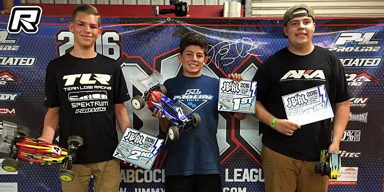 Jake Mayo wins at JBRL Electric Series Rd7