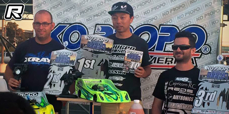Takaaki Shimo wins 1/8th Expert class at KO Grand Prix