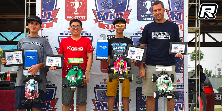 Boy Witsarut sweeps Malaysian National League Rd5