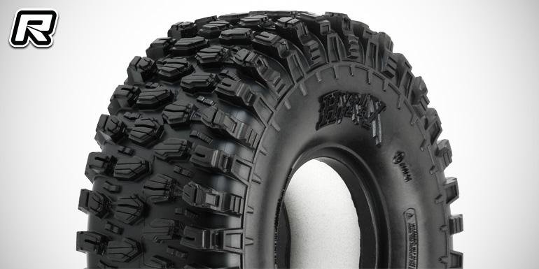 "Pro-Line Hyrax 1.9"" tyre & new crawler inserts"