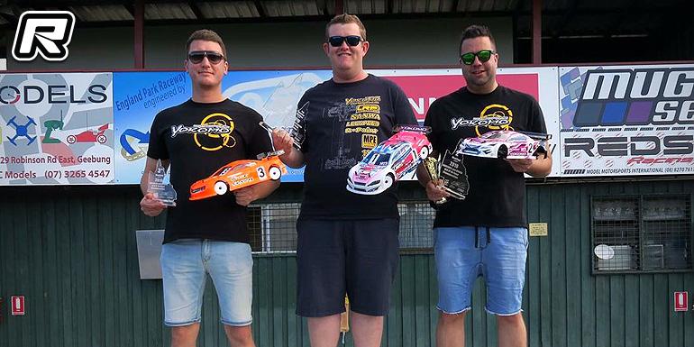 Simon Nicholson TQs & wins at QLD State Titles