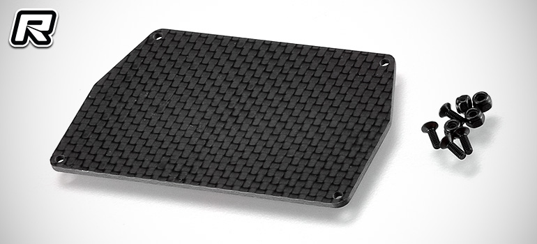 RDRP B6 carbon fibre electronic mounting plate
