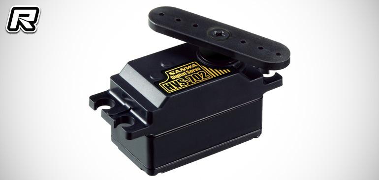 Sanwa HVS-702 servo & RX-481WP receiver