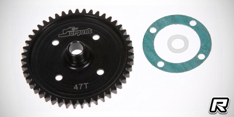 Serpent SRX8 47T & 48T hardened steel spur gears