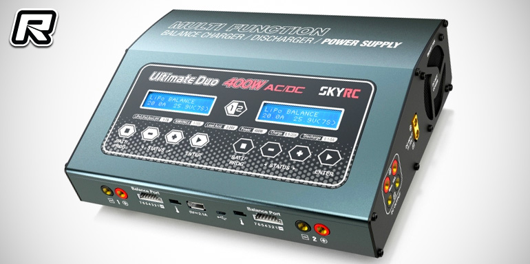SkyRC Ultimate Duo 400W AC/DC multi charger