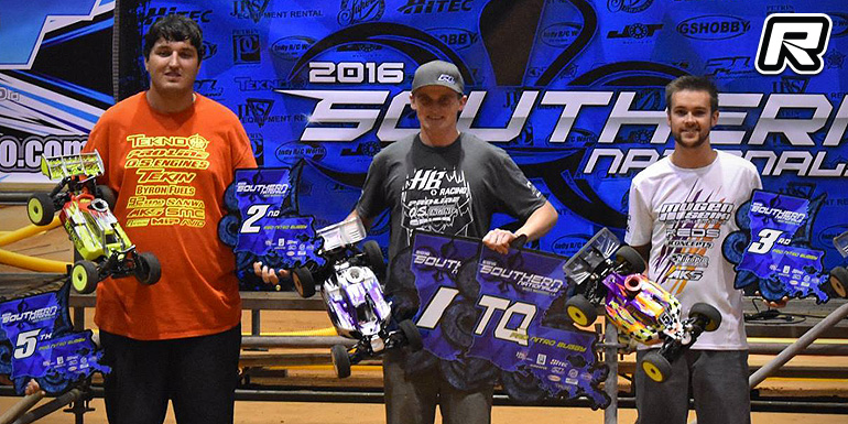 Ty Tessmann doubles at Southern Indoor Nationals