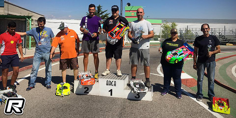 Glyn Beal TQs & wins at Spanish GT Champs Rd2