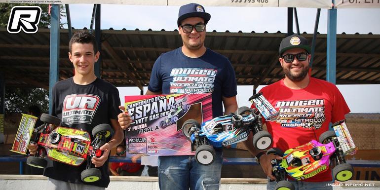 Oscar Baldo wins Spanish Nitro Buggy Nats Rd3
