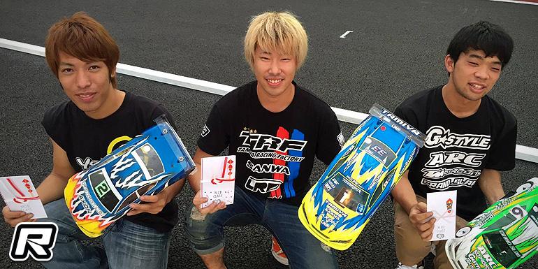 Akio Sobue sweeps Speed King Tour Rd6