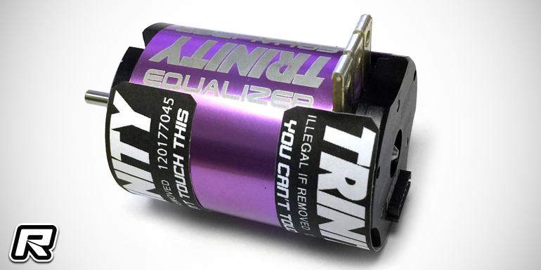 Trinity Equalizer 17.5T spec racing brushless motor