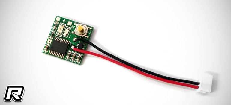 Zeppin Voice Lap Counter mini transponder