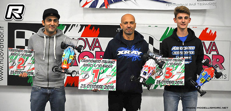 Beppe Fermi doubles at AMSCI 1/10th Off-road Champs