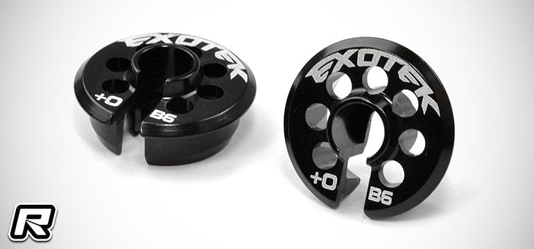 Exotek B6-series 0mm & 5mm spring perches