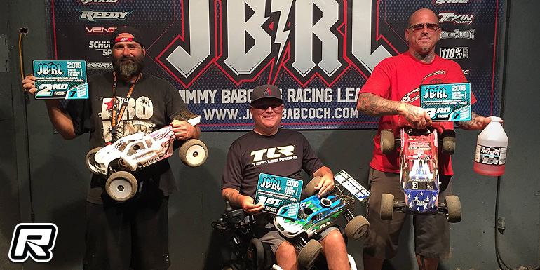 Denney wins Expert Buggy at JBRL Nitro Series Rd7
