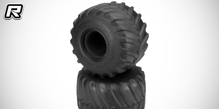 "JConcepts introduce 2.6"" monster truck tyres & wheels"