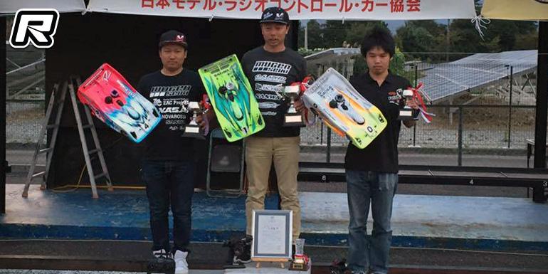 Takaaki Shimo wins JMRCA 1/8th Nationals