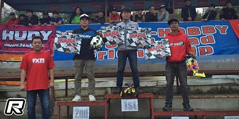 Han Young & Sun Young win at Team James Racing Cup