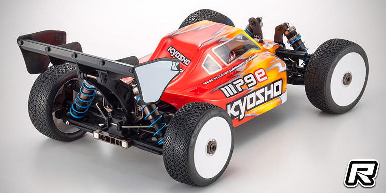 Kyosho MP9e 1/8th E-Buggy kit – Detail images