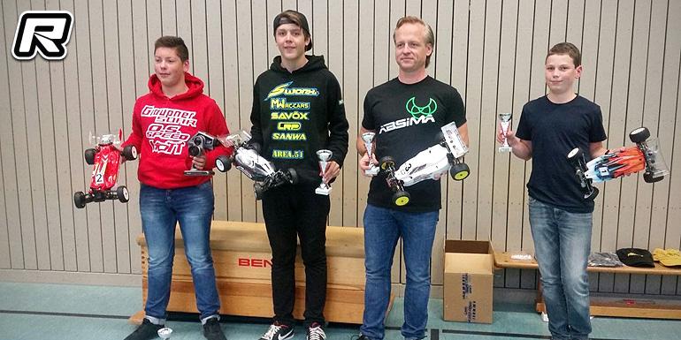 Micha Widmaier wins at Leonberg Indoor Race