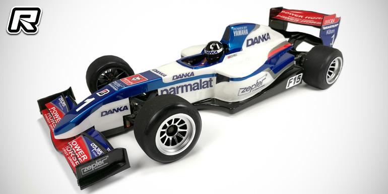 Mon-Tech reveal updated F15 1/10th formula bodyshell