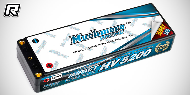 Muchmore Impact HV FD2 & Max-Punch FD2 5200mAh LiPo packs