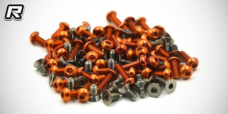 RC-Cox T4'17 & Rapide P12 2016 screw sets