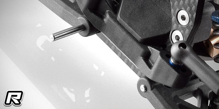 RDRP B6-series titanium hinge pin set