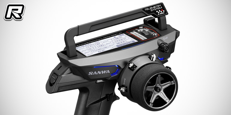 Sanwa MT-44 2.4GHz 4-channel radio system