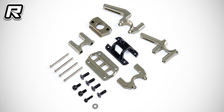 TLR 8ight-E aluminium split centre diff mount