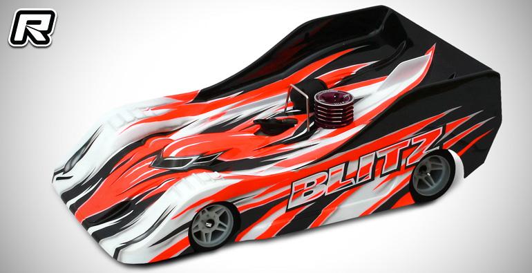 Team Titan Blitz TS035 1/8th on-road bodyshell