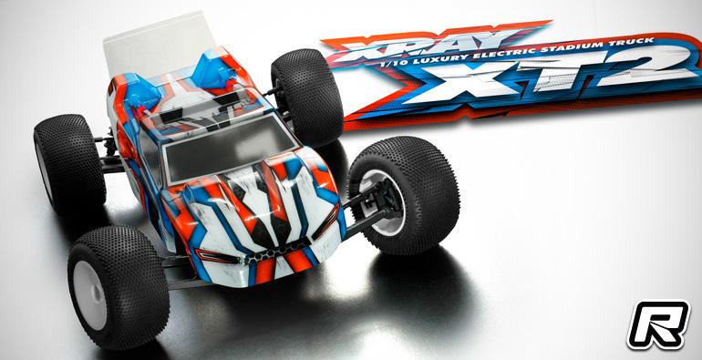 Xray XT2 1/10th 2WD racing truck kit