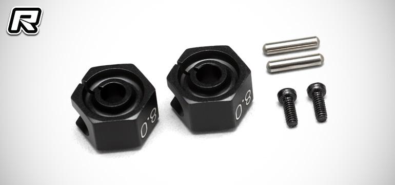 Yokomo YD-2 8mm offset aluminium wheel hex set