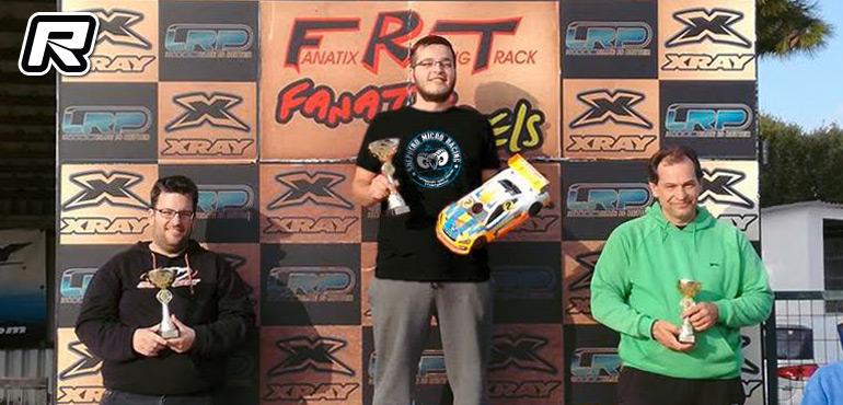 Bill Lykaris wins 1/10 Greek Championhip