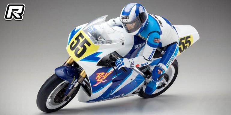 Kyosho S.R.T. Suzuki RGV1992 1/8th bike kit
