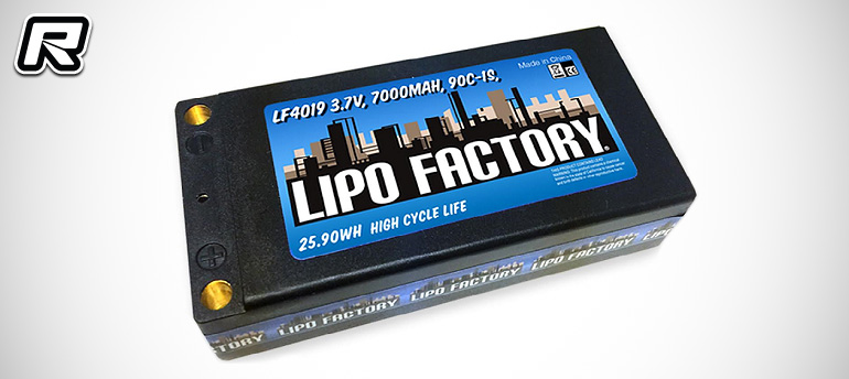 LiPo Factory 1S 7000mAh 90C LiPo battery pack