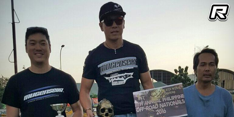 Edward Sio wins Philippine Nitro Truggy Nationals