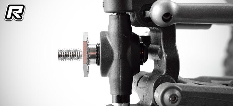 RDRP B6-series titanium front axle set