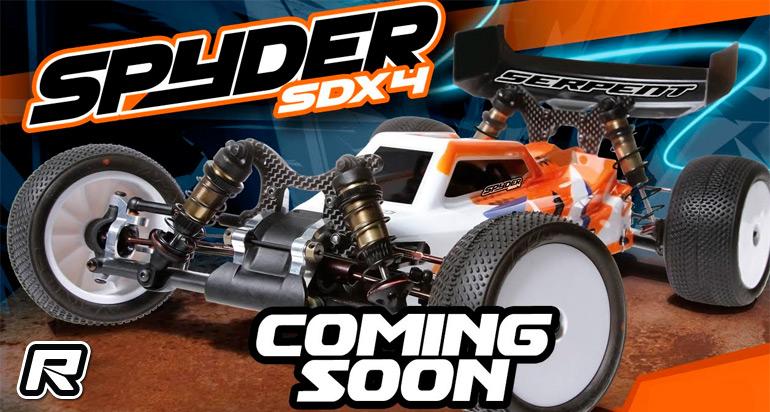 Serpent Spyder SDX4 - Coming soon