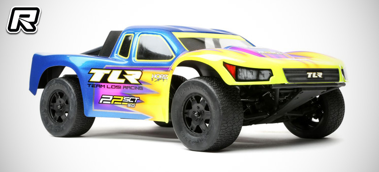 TLR 22SCT 3.0 2WD short course truck kit