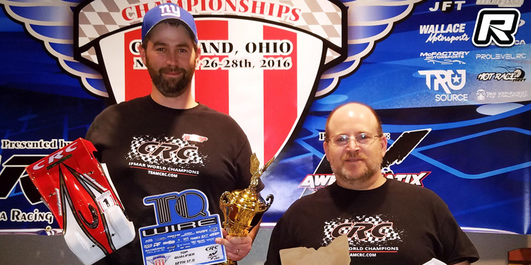 Firsching dominates U.S. Indoor Championship
