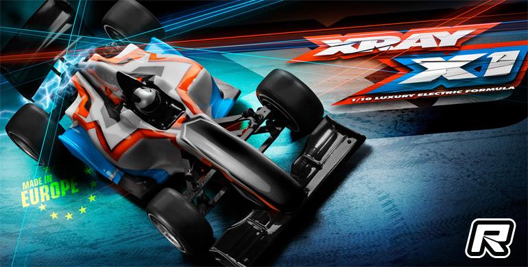 Xray X1 2017 Formula chassis