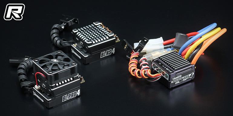 Yokomo BL4 series brushless speed controllers