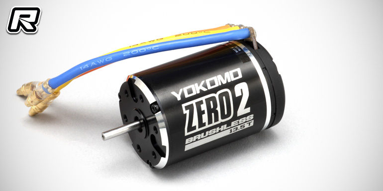 Yokomo Zero 2 sport-level brushless motors