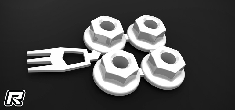 3DRC 40mm Fan Booster & B6 super light slipper nut set