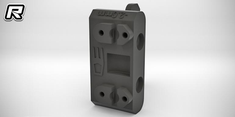 3DRC B6 -2mm rear gearbox brace