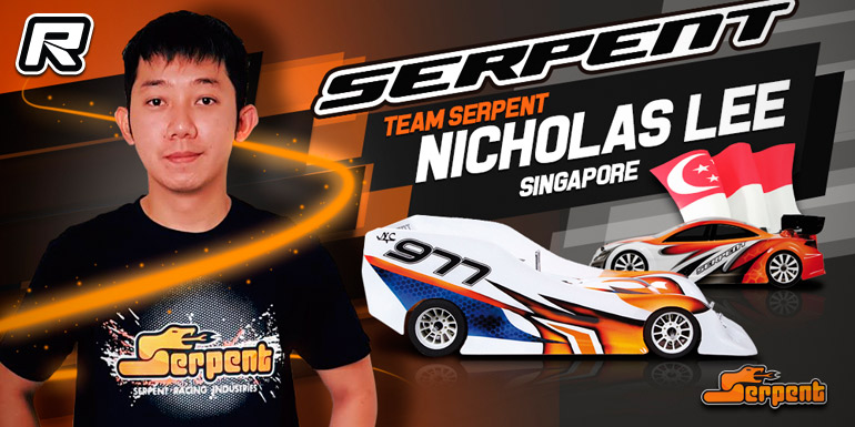 Red Rc Rc Car News Nicholas Lee Joins Serpent Nitro On